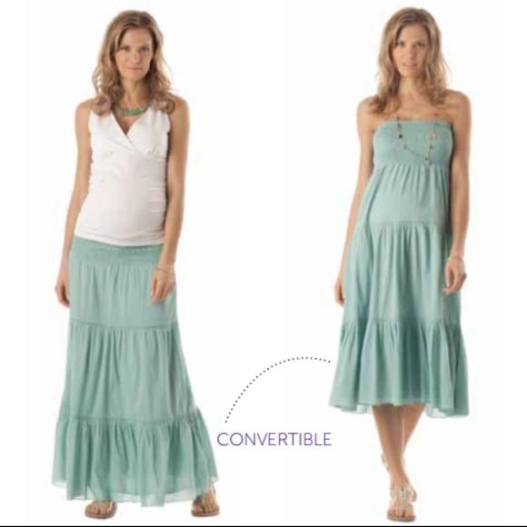 fda796eb56217 Seraphine Dresses | New Maternity Skirt Dress 4 S M Nwt | Poshmark